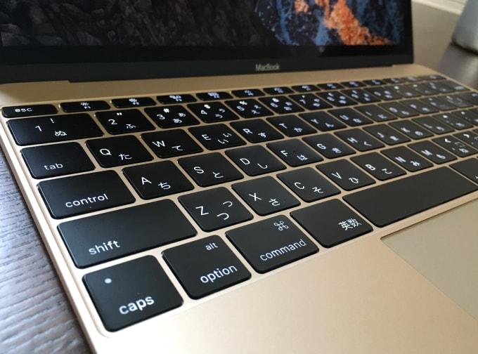 MacBook2016 12インチ