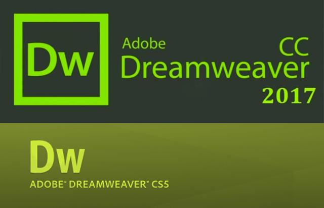 Dreamweaver cc 2017 とcs5